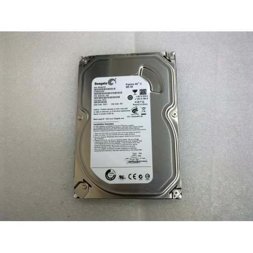 Seagate 3.5 500GB Slim Sata HDD